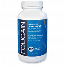 Foligain for Hair Loss Treatment 120 Caplets