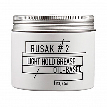 Бриолин для волос Rusak Hair Pomade Medium Hold Grease №2