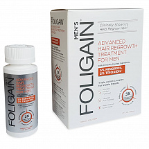 FOLIGAIN ADVANCED HAIR REGROWTH TREATMENT For Men with 5% Minoxidil & 5% Trioxidil